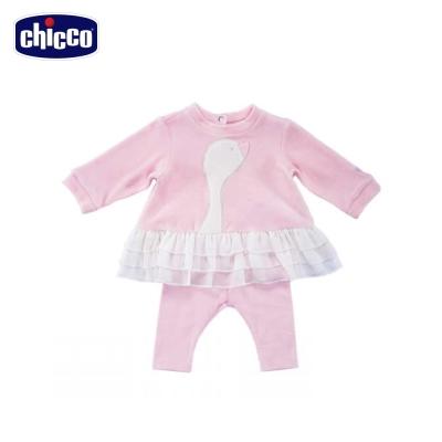 chicco小天鵝-剪毛絨造型套裝(6個月-18個月)