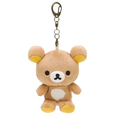 拉拉熊歡樂時光系列毛絨公仔吊飾。懶熊  San-X