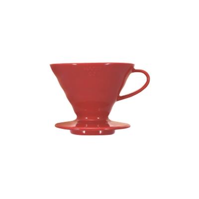 HARIO-V60紅色02磁石濾杯1~4杯 / VDC-02R