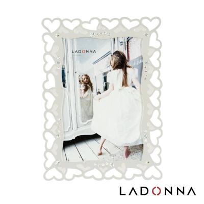 日本 LADONNA Bridal 幸福花嫁 幸福環繞4x6相框白 MJ43-P-WH