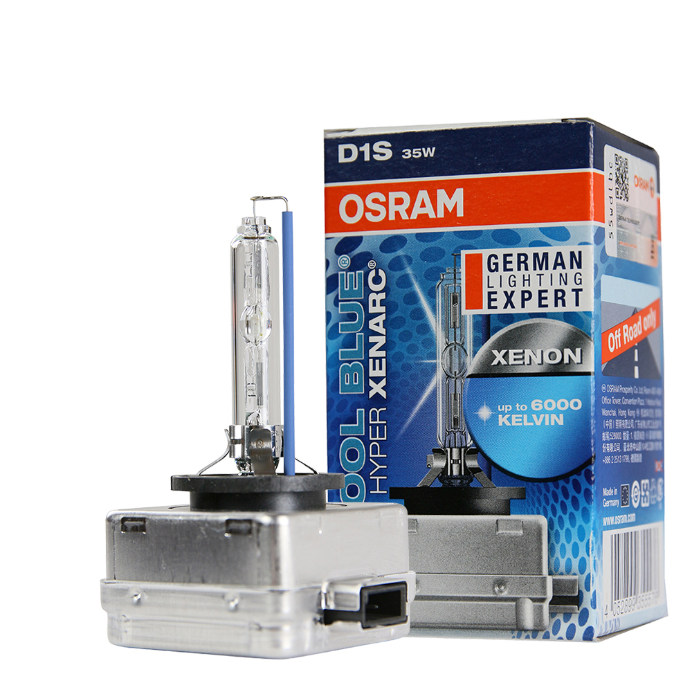 OSRAM 66140CBA D1S 6000K HID燈泡(公司貨保固一年)