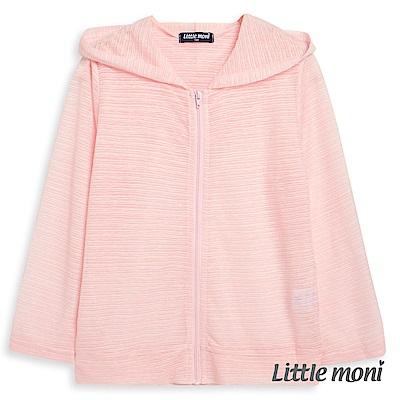 Little moni 糖果色連帽輕透外套 (2色可選)