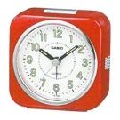 CASIO 桌上型指針鬧鐘(TQ-143S-4)-紅色