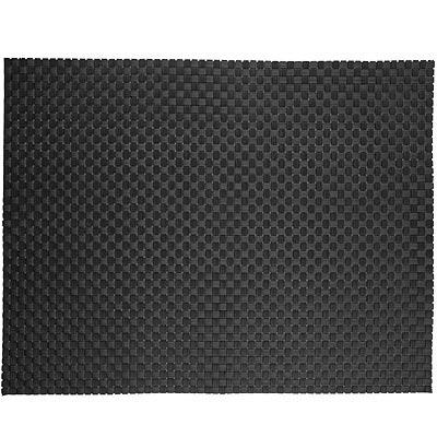 ZONE 十字編織餐墊(黑)
