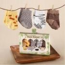 Baby Aspen 叢林動物襪子彌月禮盒組