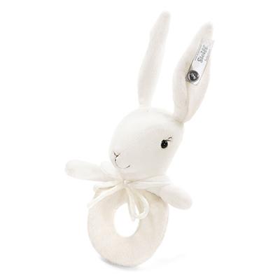 STEIFF泰迪熊 - 嬰幼兒手搖鈴 Rabbit 13cm (頂級精品)