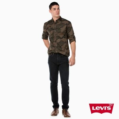 Levis 男款 上寬下窄 512 Taper 低腰修身牛仔長褲 彈性布料