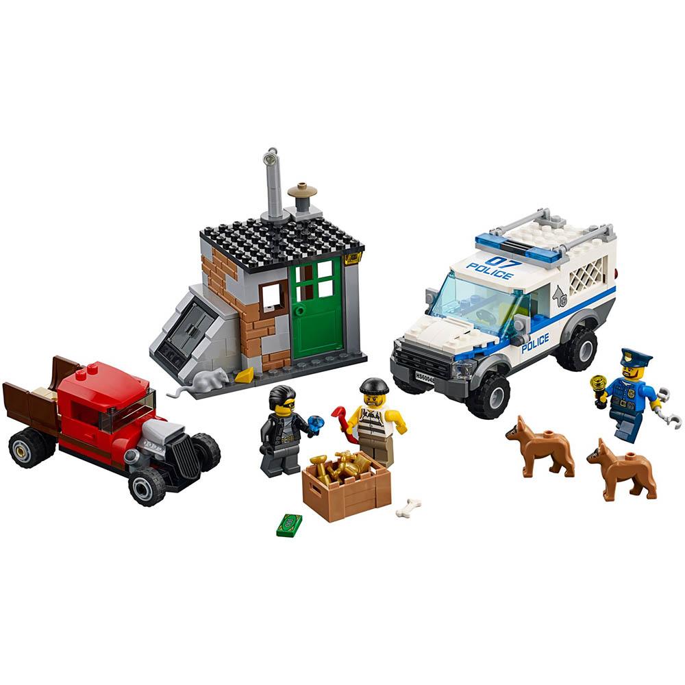 LEGO樂高 城市系列60048 警犬部隊