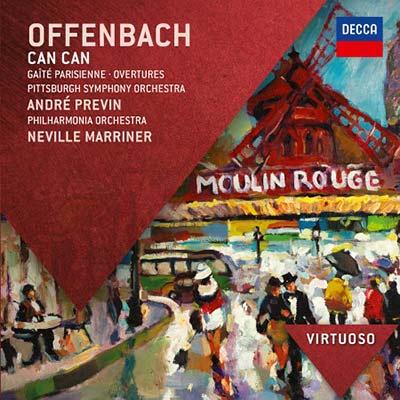 奧芬巴哈︰歡樂的巴黎人 & 序曲集 / 普烈文 指揮 匹茲堡交響樂團 / 馬利納 指揮 愛