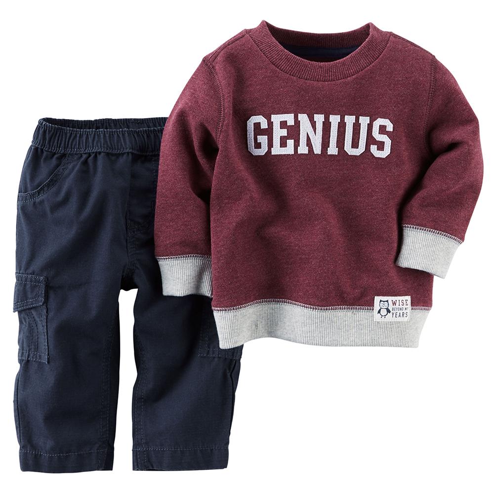 Carte s GENIUS長袖長褲兩件組