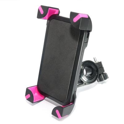機械爪固定式 自行車手機支架