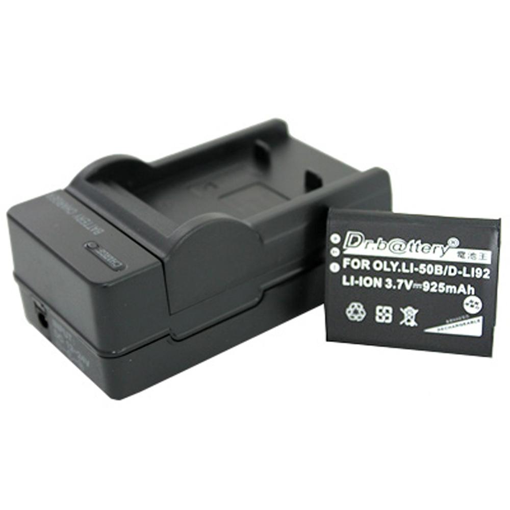 電池王 OLYMPUS Li-50B 高容量鋰電池+充電器組
