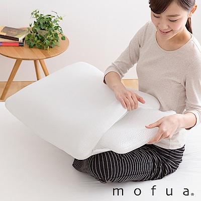 【Niceday】mofua 自由高度3D透氣枕 (白色)