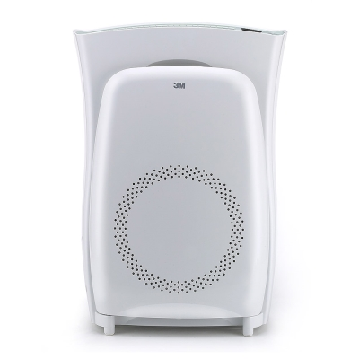 3M 淨呼吸超濾淨型空氣清淨機(高效版)-適用10坪+專用濾網2入 N95口罩濾淨原理