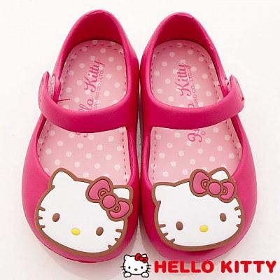 HelloKitty童鞋-輕巧娃娃鞋-EI18161桃(中小童段)