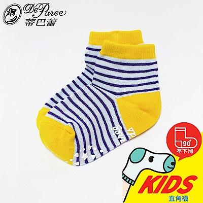 蒂巴蕾KIDS直角1 2襪-條紋