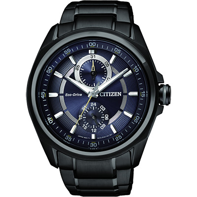 CITIZEN METAL 專屬的你時尚腕錶(BU3005-51L)-藍xIP黑/43mm