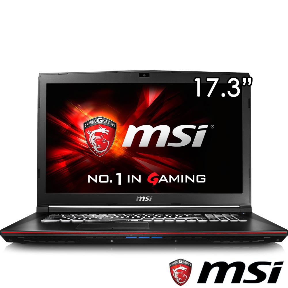 MSI微星 GP72-483 17吋電競筆電(i7-6700/GTX960/1T/8G/FHD霧