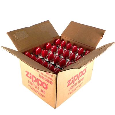 【ZIPPO】原廠專用打火機補充油~1箱24罐裝