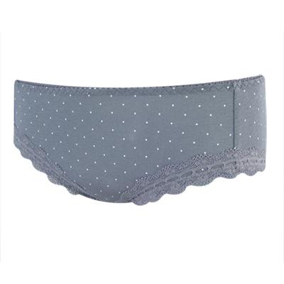 【瑪登瑪朵】巧波 低腰寬邊三角棉褲(神秘灰)