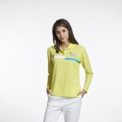 Sunrise淺綠色長袖上衣-L99005-1