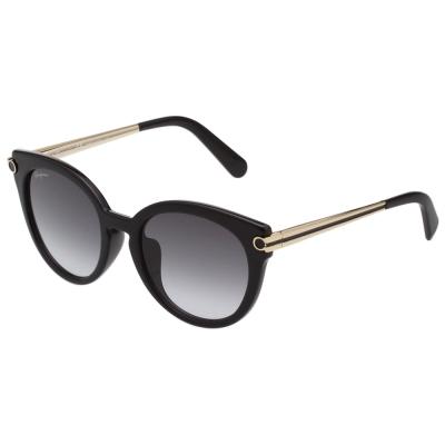 Salvatore Ferragamo 復古 太陽眼鏡 (黑色)SF839SA