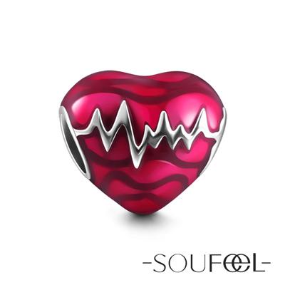SOUFEEL索菲爾 925純銀珠飾 心電感應 串珠