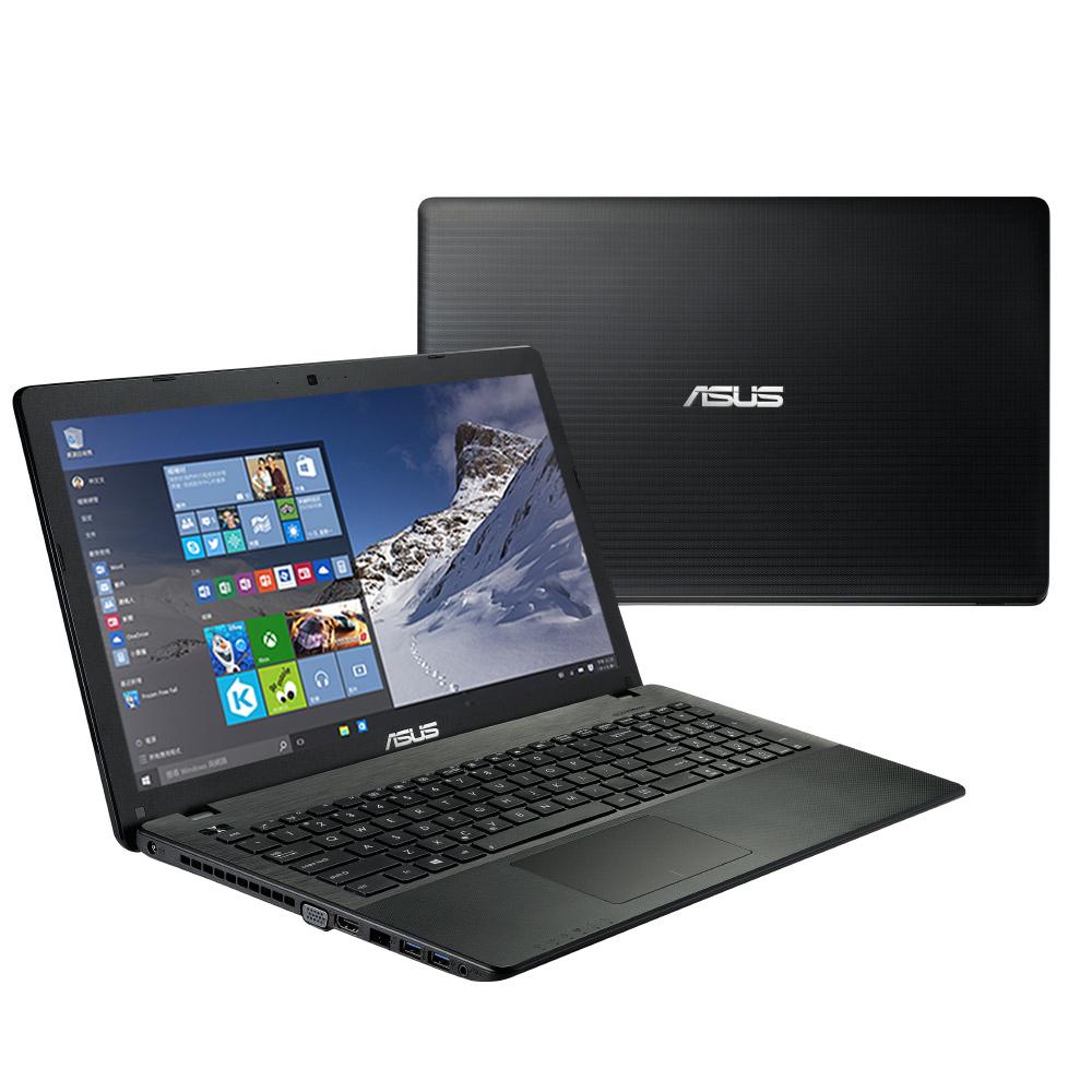 ASUS X552MJ 15.6吋筆電黑(N3540/4G/500G/W10)