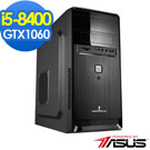 華碩B360平台[鋼鐵戰士]i5六核GTX1060獨顯OPTANE 超激速效能Win10電