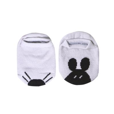 baby童衣 兒童不對稱卡通圖案防滑帆船襪 54203
