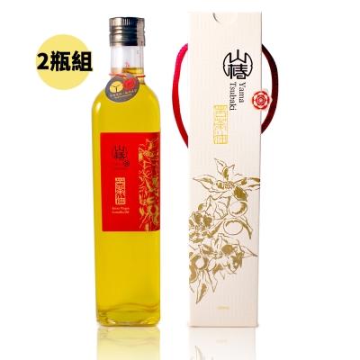 山椿 特級苦茶油2瓶組(500ml/瓶)