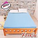 LooCa吸濕排汗七段式無重力乳膠床墊-雙人5尺