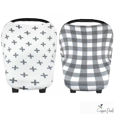 Copper Pearl 美國 幾何圖形系列哺乳巾/座椅套 多功能二用款