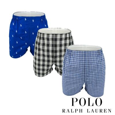 Polo Ralph Lauren 經典馬球純棉平口褲-3入(TGD)