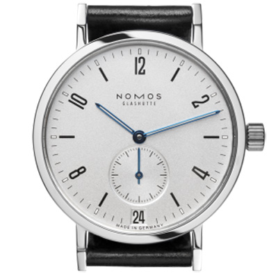 NOMOS Tangente Sport Datum 502 小秒針腕錶-白/36.5mm