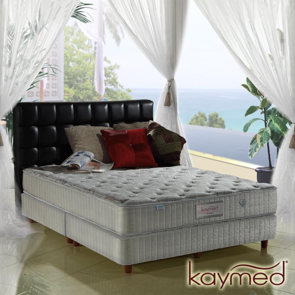 Kaymed Coolfoam自然感 二線高澎免翻面乳膠+記憶膠+羊毛獨立筒 單人3.5尺