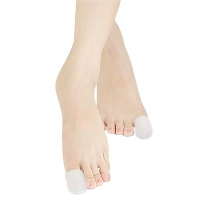 足的美形  頂級矽膠閉口大拇指保護套(2雙)