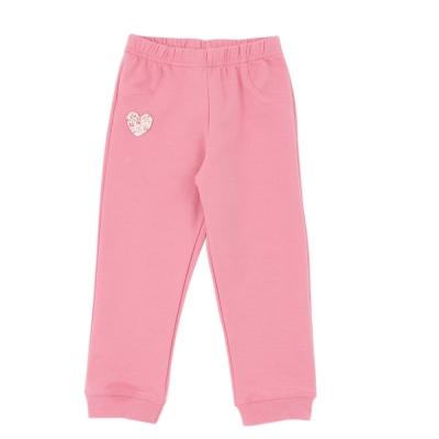 愛的世界 MYBABY 彈性花仙子鬆緊帶束口長褲 2~4歲