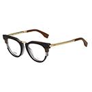 FENDI 廣告主打 光學眼鏡 (黑色)FF0115