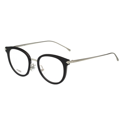 FENDI  復古 光學眼鏡 (黑色)FF0166