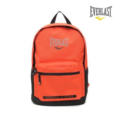EVERLAST 拳擊運動品牌-休閒電腦後背包-橘