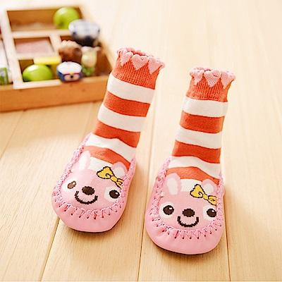 baby童衣 防滑顆粒卡通圖案室內鞋襪 y7008