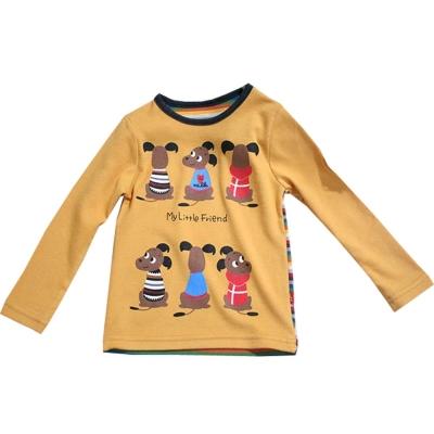 魔法Baby台灣兒童秋冬長袖T恤 k43204