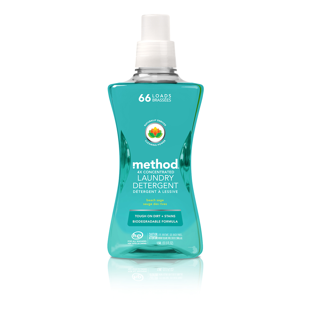 Method美則 4倍濃縮智慧環保香水洗衣精-海藍鼠尾草1580ml