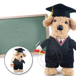 DYY》畢業囉!學士服寵物變身裝5號
