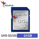 ADATA威剛Premier SDXC UHS-I U1 64G記憶卡
