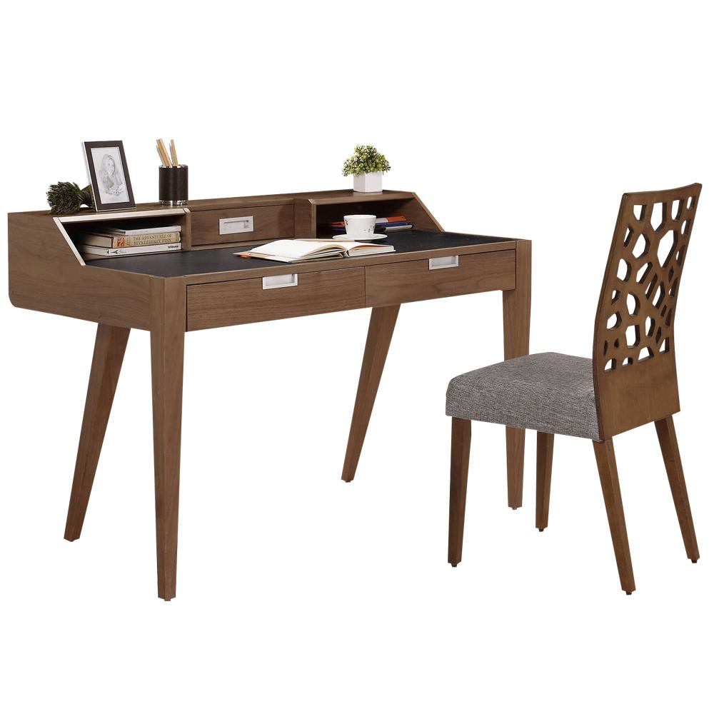 時尚屋 波克4尺桌椅組