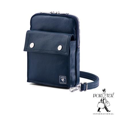 PORTER - 復刻新作MILKY+2WAY時尚隨身小包 - 深藍