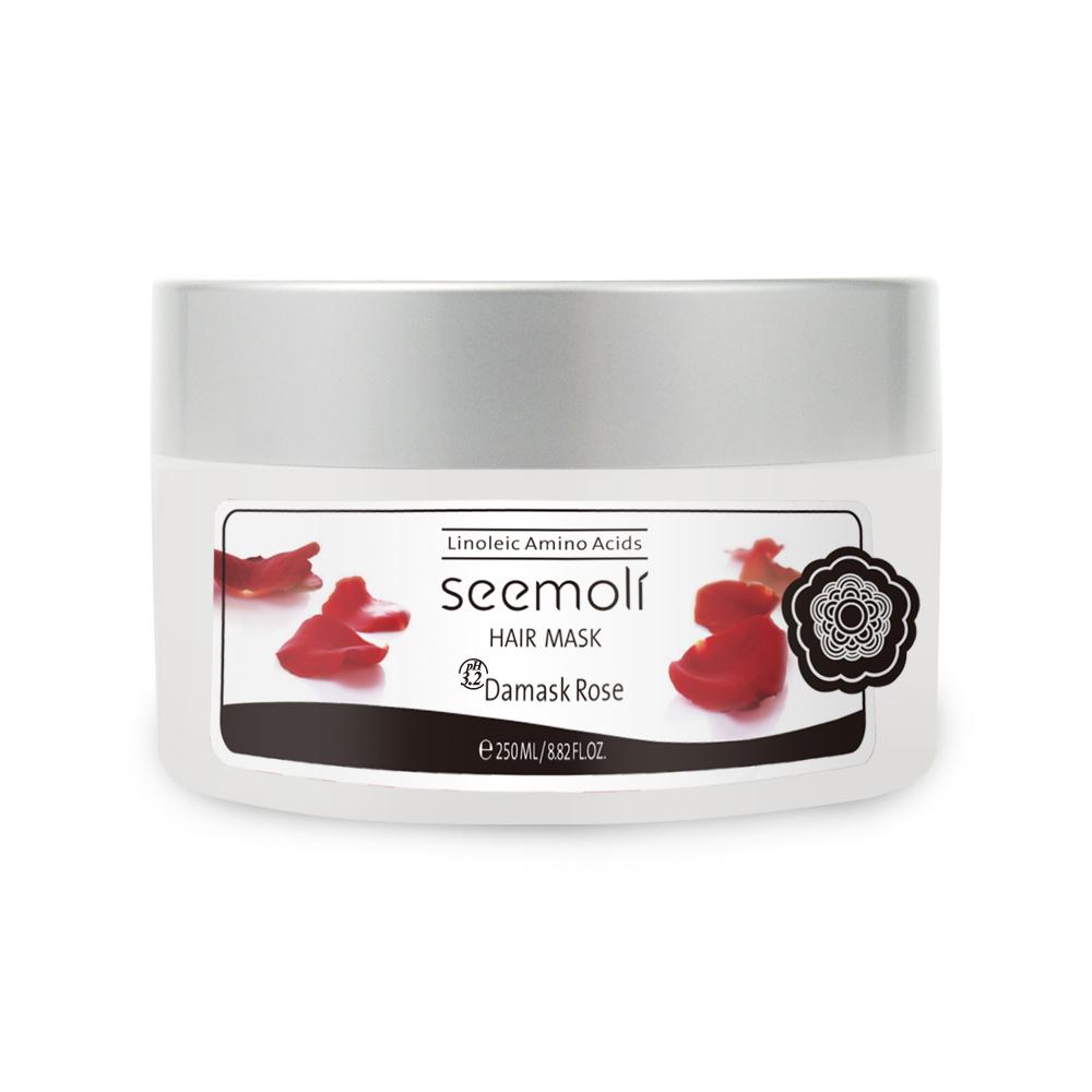 Seemoli蓆沐麗 大馬士革玫瑰精萃胺基酸絲光髮膜250mL
