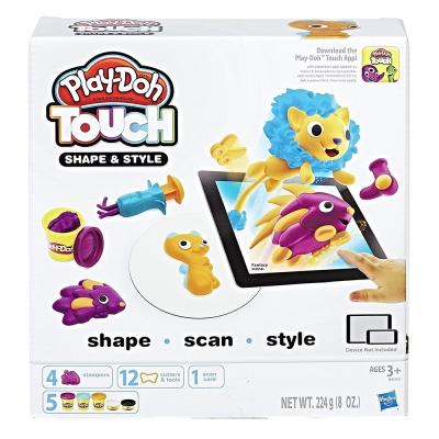 培樂多Play-Doh 創意DIY黏土 TOUCH遊戲 造型風格組 B9018